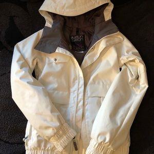 Burton White Shell Snow Jacket
